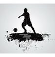 sportsman vector image vector image