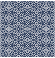 3D White Seamless Pattern in Arabian style vector image