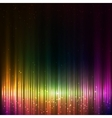 Colorful shining equalizer abstract background vector image