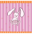 cute little bunny vector image