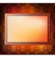 ornamented frames vector image vector image