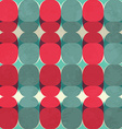 colorful vintage seamless pattern vector image