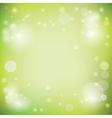 light green background with lights vector image vector image