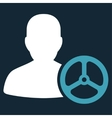 Driver Icon from Commerce Set vector image