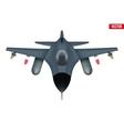 Original Bomber aircraft plane vector image