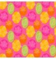 Autumn leafSeamless pattern vector image