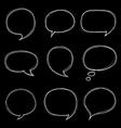 bubble talk 1 vector image