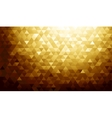 Gold background texture vector image