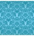 turquoise seamless wallpaper vector image vector image
