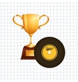 Music Awards design vector image
