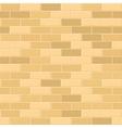 Seamless Pattern of Yellow Brick with Light Seam vector image