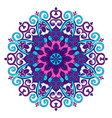new round mandala-06 vector image