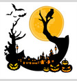 halloween background graphic resource vector image