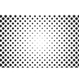 Huge dots halftone background Overlay vector image
