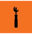 Can opener icon vector image
