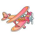 Aeroplane vector image vector image