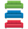 sofas vector image