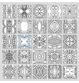25 seamless pattern collection vector image
