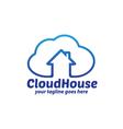 Cloud House Logo vector image