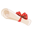 Package from paper vector image