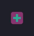 Medicine computer symbol vector image