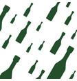 champagne bottles background vector image