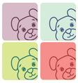 tedi bear5 resize vector image