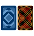 Playing card design vector image
