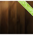 abstract wood background contrast and saturation o vector image