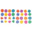 floral element prints vector image vector image