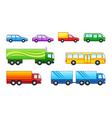 Motor transport vector image vector image