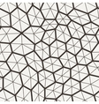 seamless pattern in a grid of polygons with vector image