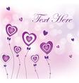 valentines flower vector image