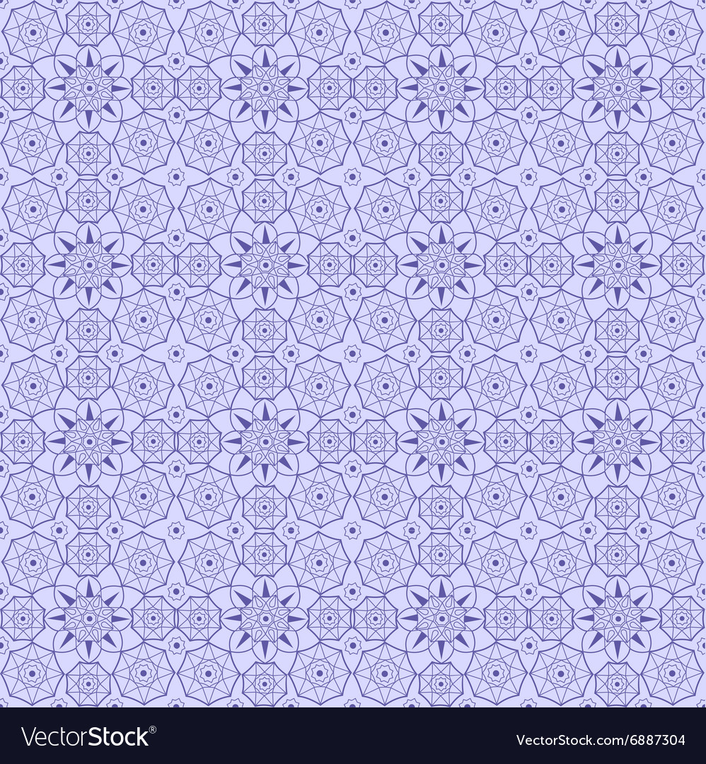 Islamic arabic seamless pattern background vector