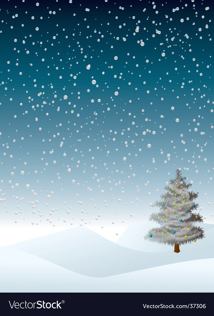 Winter flurry vector