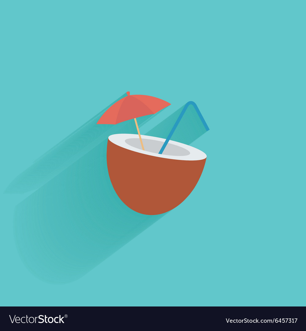 Summer vacation object vector