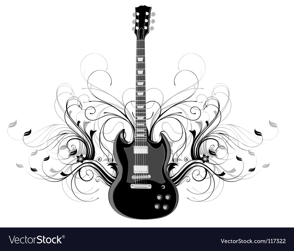 Guitar legends vector