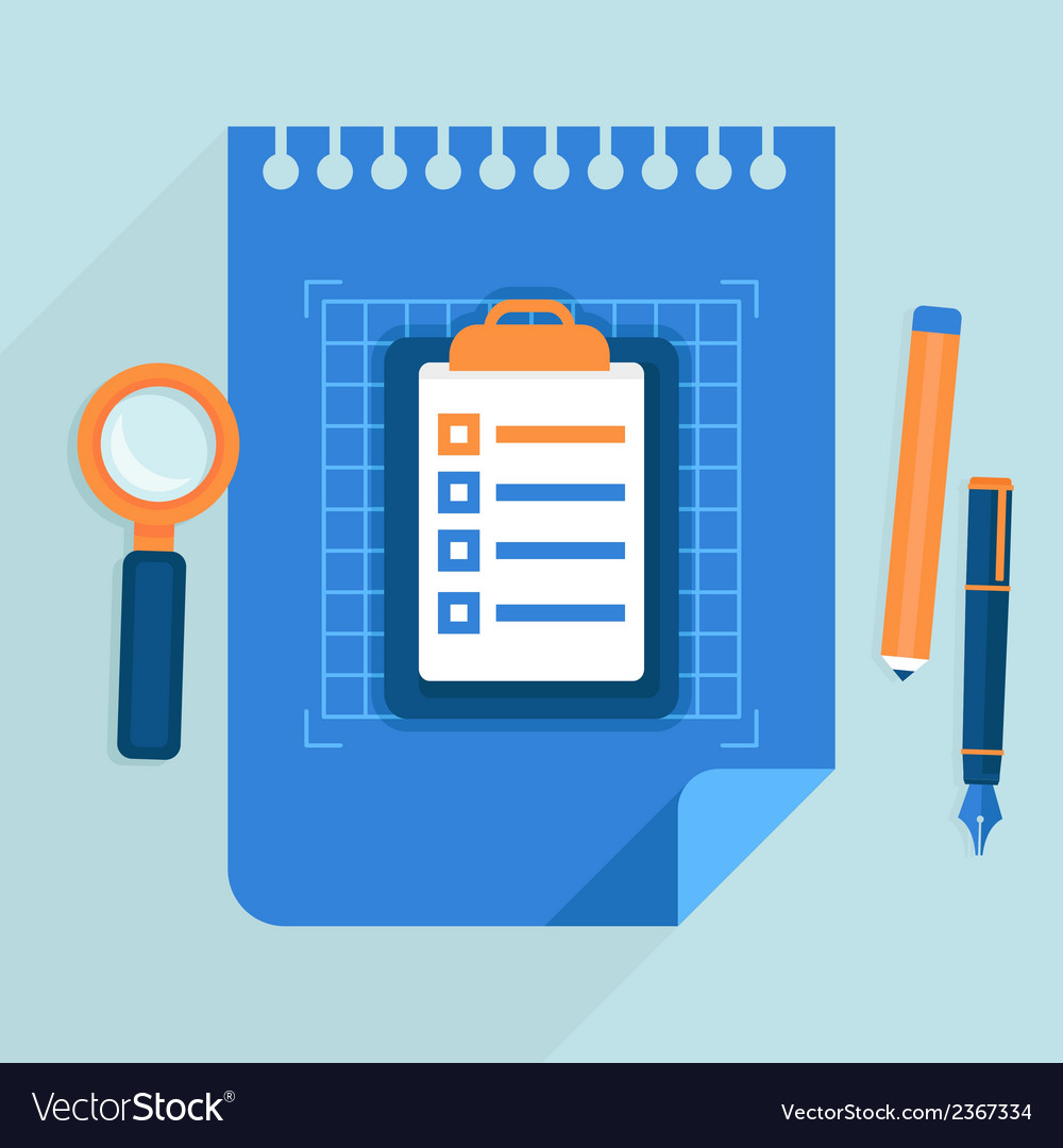 Business plan concept vector