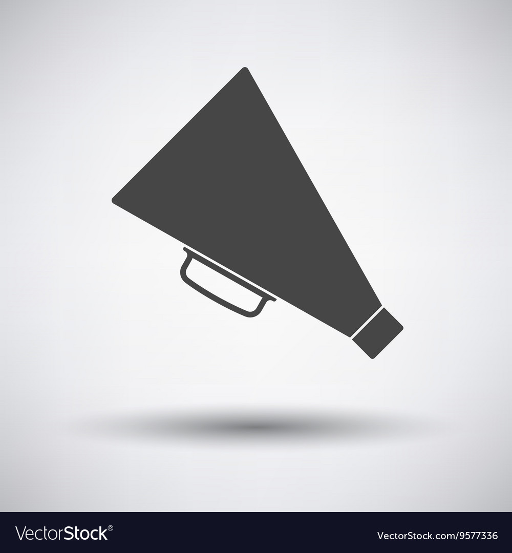 Director megaphone icon vector