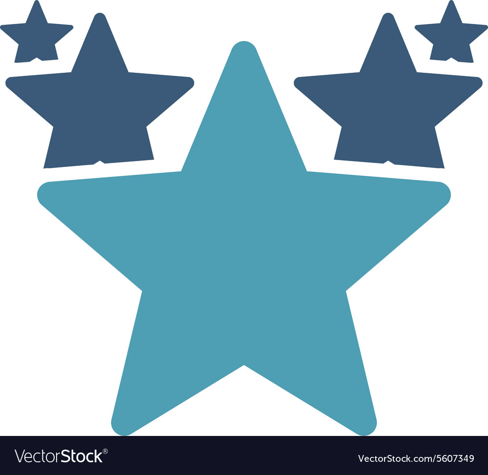Hit parade icon from competition success bicolor vector