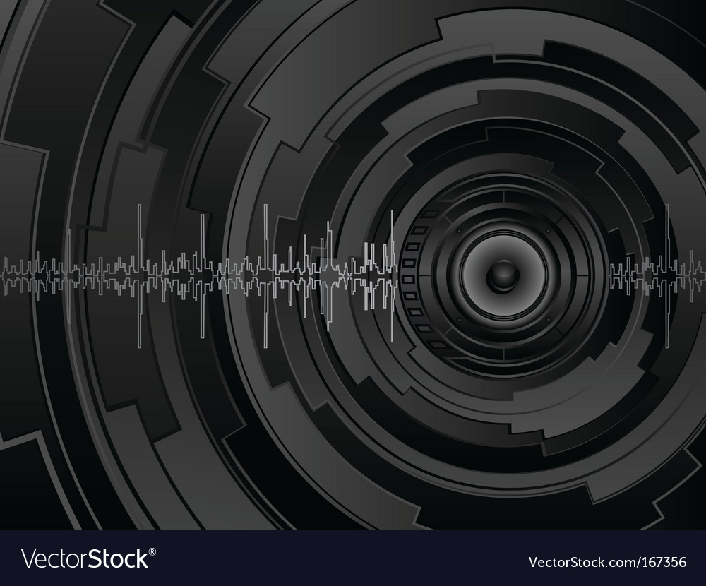 Hightech background vector