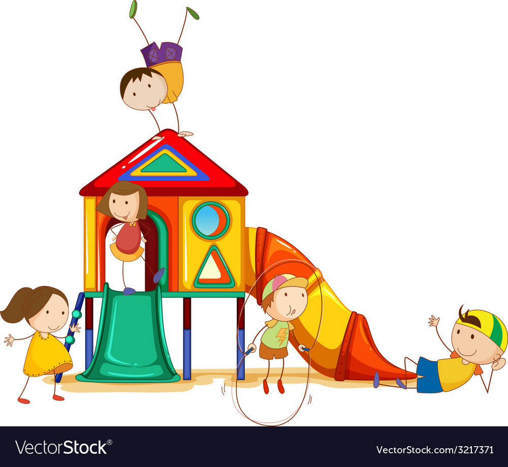 Playhouse vector