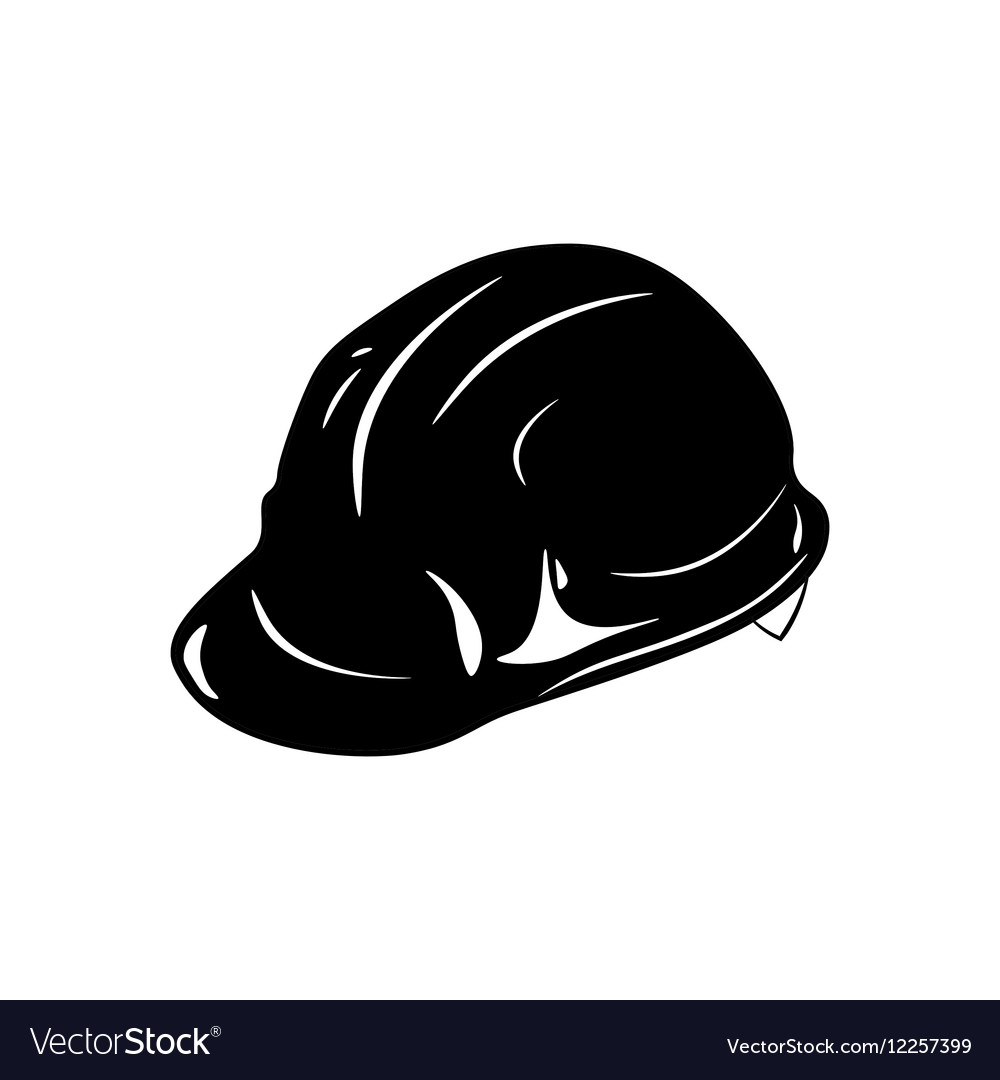 Safety constructions helmet hard hat isolated on vector