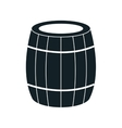 Delicious wine isolated flat icon vector image