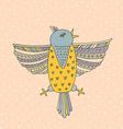 Bird Card vector image
