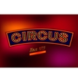 Circus Banner vector image
