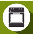 oven kitchen isolated icon vector image