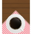 Black Coffee Background Photo-Realistic vector image