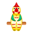 rooster toy vector image