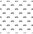Bicycle pattern simple style vector image